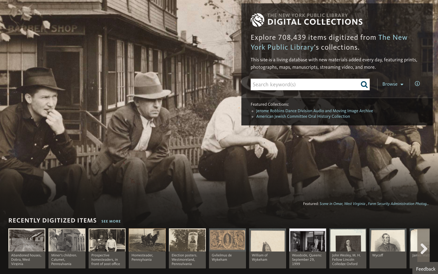 NYPL's Digital Collections platform.