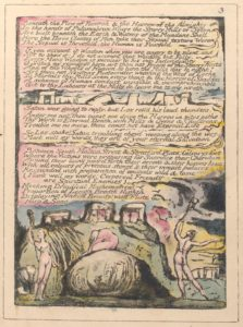 """Beneath the Plow of Rintrah...."" Example from the Rare Book Division on The New York Public Library Digital Collections"
