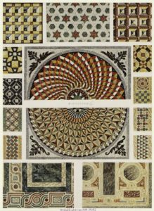 """Marble Floors"". Example from the Art and Picture Collection on The New York Public Library Digital Collections"
